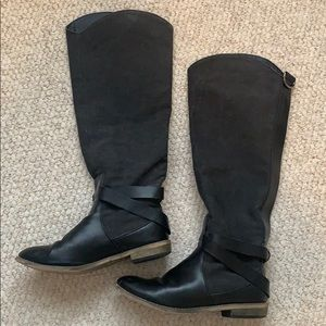 BDG black knee high boots